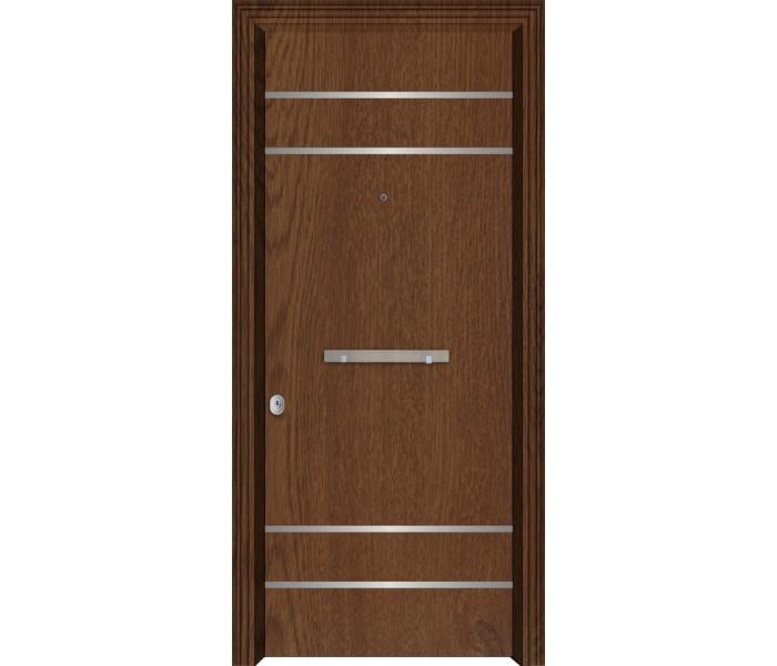Θωρακισμένη πόρτα ασφαλείας SAI-4100 Image